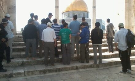 Jewish prayer has returned to the Temple Mount