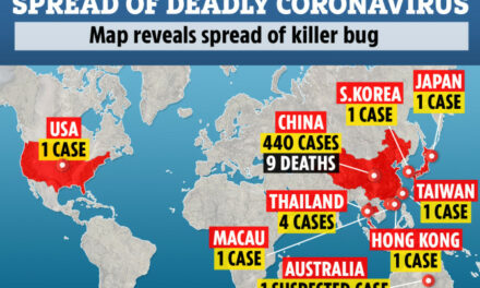 Coronavirus death toll DOUBLES to 17 as more than 470 cases of 'mutating' bug confirmed