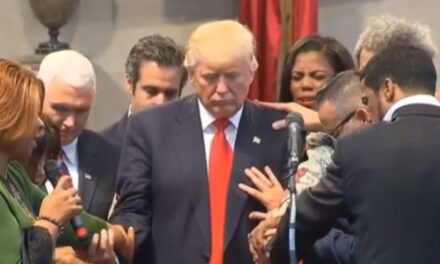 'I don't like people who use their faith as justification for doing what they know is wrong.' Trump hits Romney and Pelosi at National Prayer Breakfast
