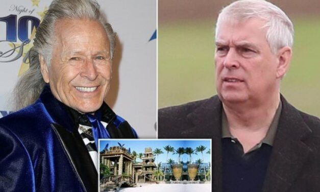 Prince Andrew's pal Peter Nygard pictured with scantily-clad young women in estate where fashion boss is accused of rape