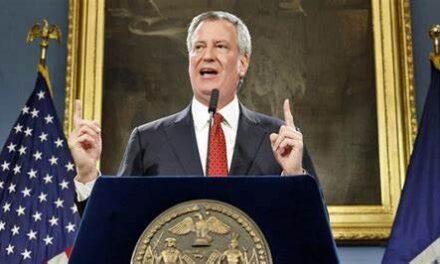 NYC Myor De Blasio threatens to permanently close places of worship that resist shutdown order
