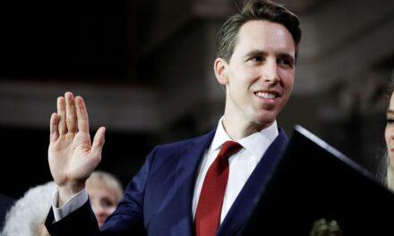 Josh Hawley, 14 GOP Senators Move to Censure Chuck Schumer for Threatening SCOTUS Justices