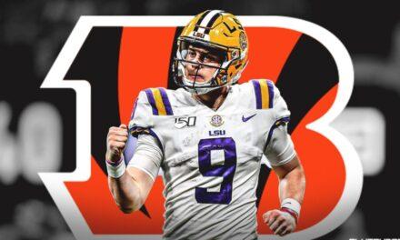 NFL draft 2020: Joe Burrow first pick for Cincinnati Bengals