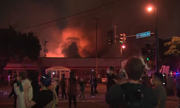 Fires, looting rock Minneapolis after man's death; 1 more died while looting Wednesday night