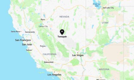 USGS reports magnitude-6.4 earthquake in western Nevada