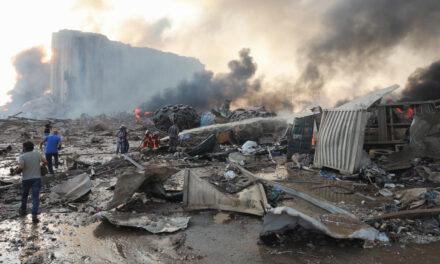 BREAKING NEWS: Large blast in Beirut port area rocks Lebanon's capital, many people hurt