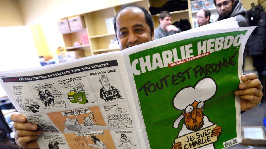 Iran's Ayatollah Khamenei Decries Charlie Hebdo's 'Unforgivable' Muhammad Cartoons in France