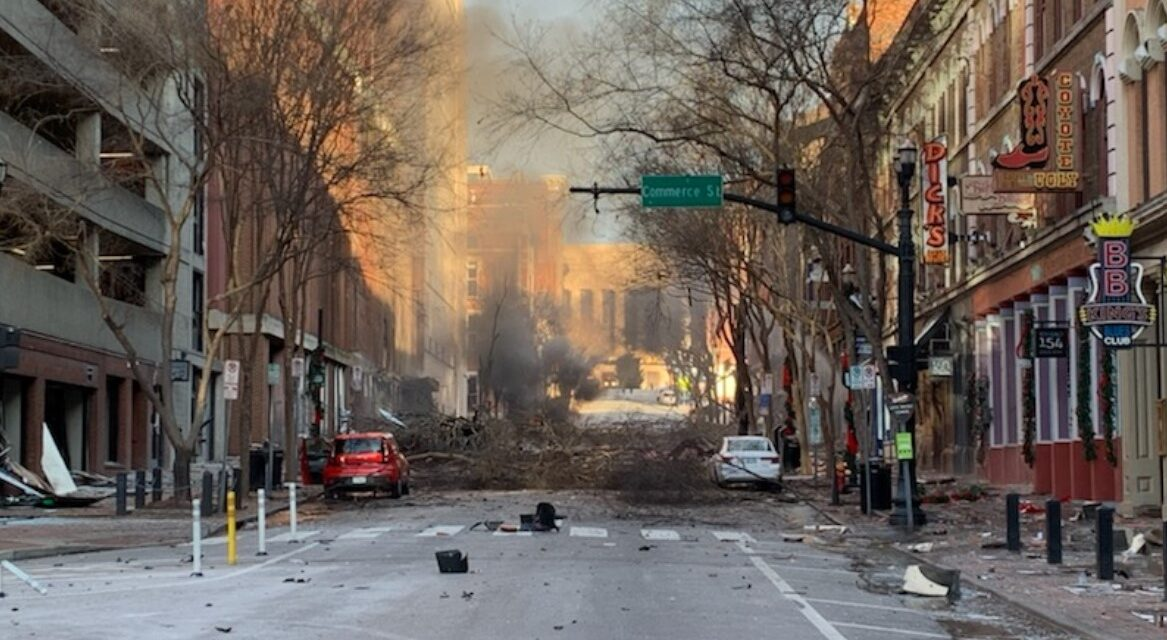 """HUGE Explosion Rocked Downtown Nashville Christmas Morning, It Was """"Intentional Act"""" Police Say"""
