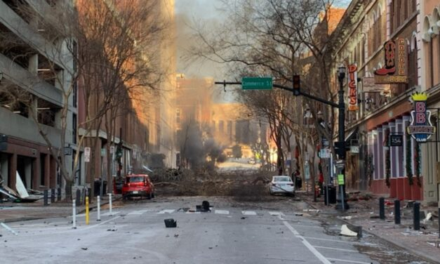 "HUGE Explosion Rocked Downtown Nashville Christmas Morning, It Was ""Intentional Act"" Police Say"